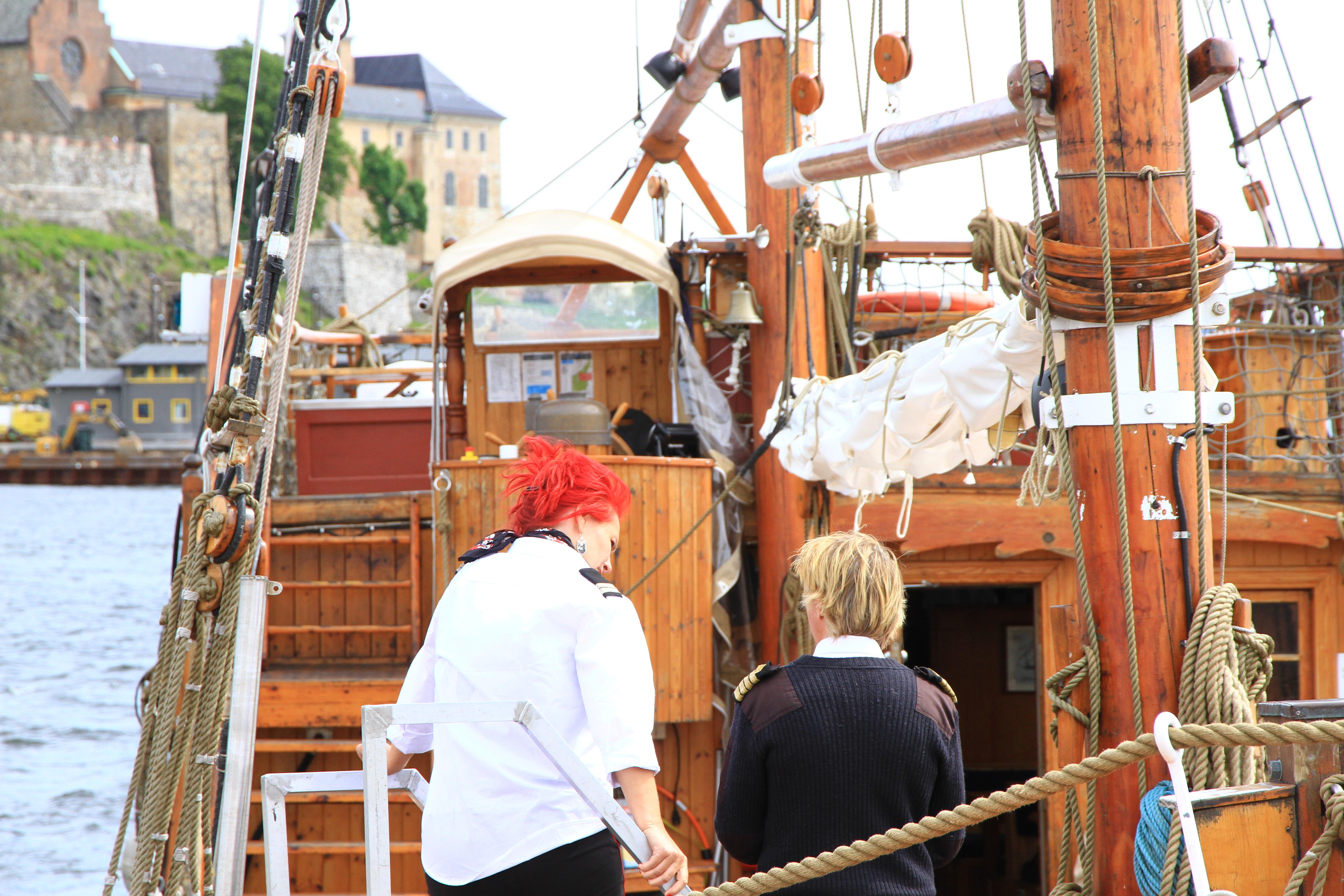 98、挪威奥斯陆:码头游船
