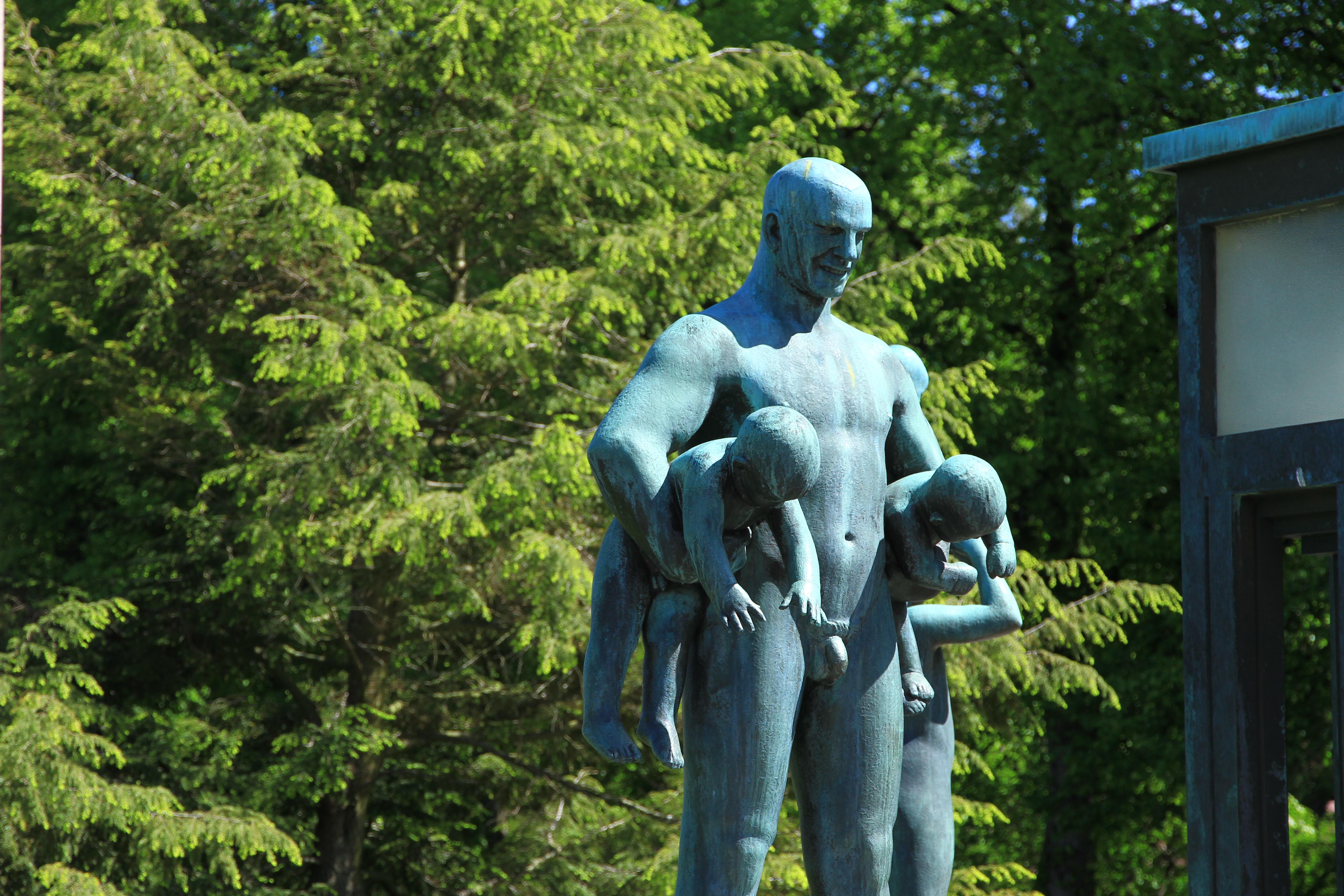 105、挪威奥斯陆:维格兰雕塑公园1