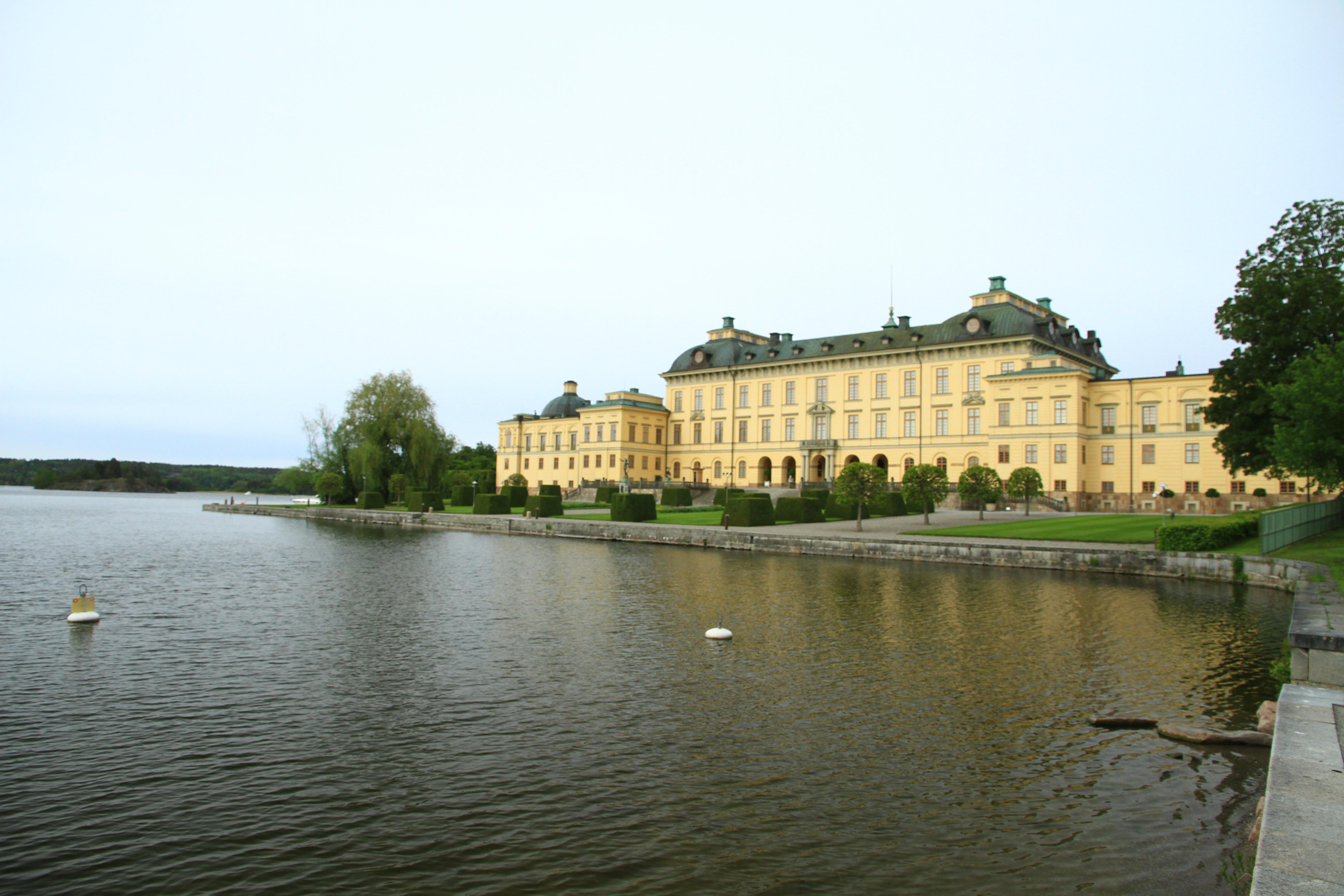 132瑞典斯德哥尔摩:梅拉伦湖旁的夏宫