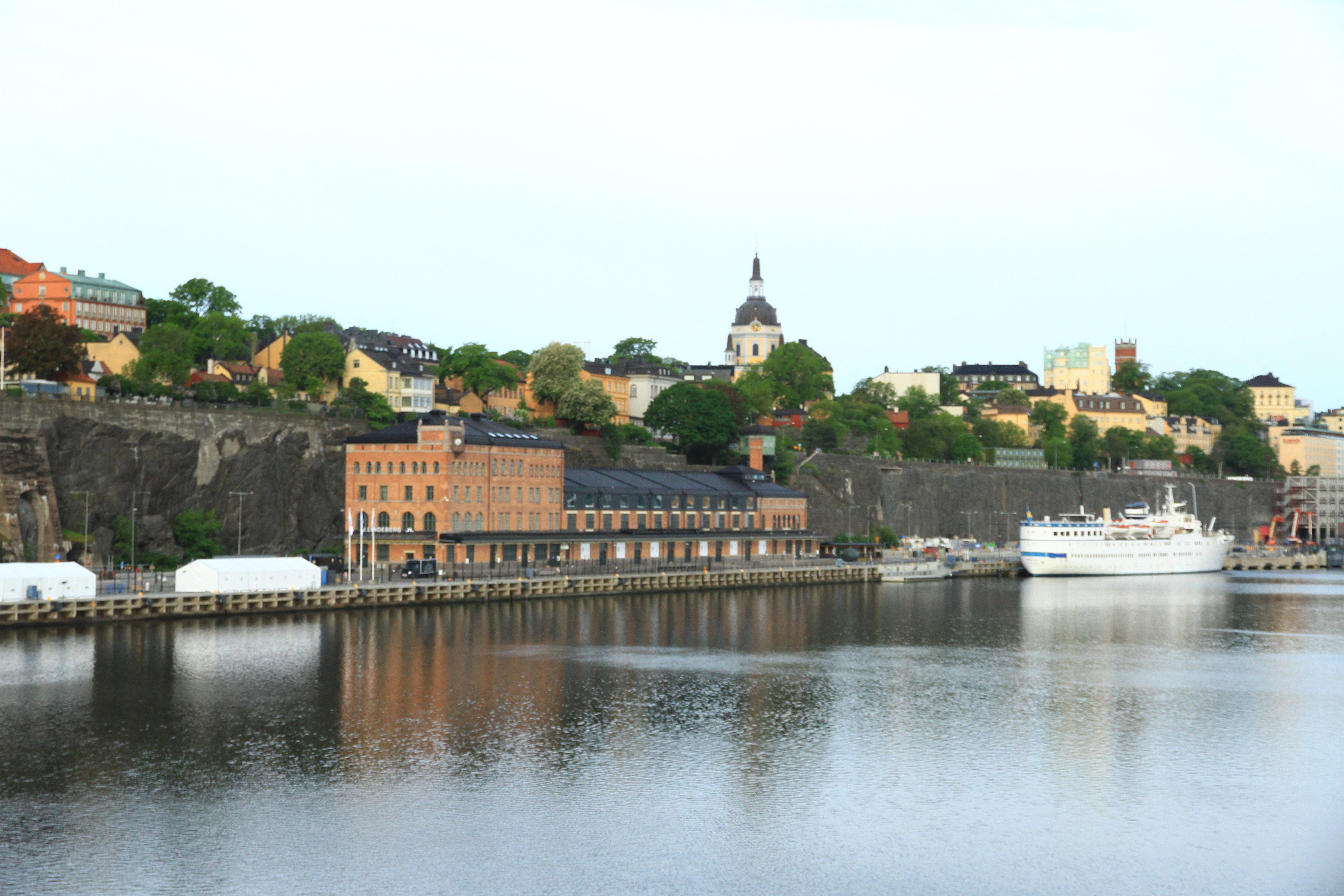 134、瑞典斯德哥尔摩:峡湾景色