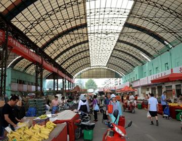下周,济南八里桥蔬菜批发市场要