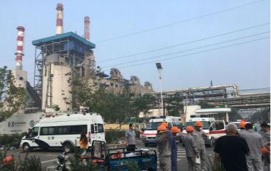 河南三门峡气化厂发生爆炸 目前10死19伤