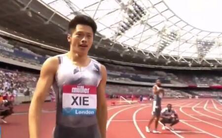 19秒88!谢震业打破男子200米亚洲纪录,看夺冠瞬间