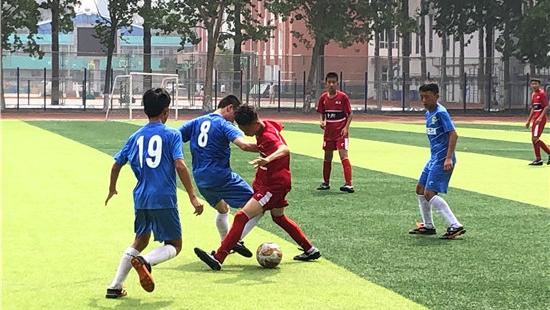潍坊市第20届运动会足球比赛闭幕 高新区队获男子乙组冠军