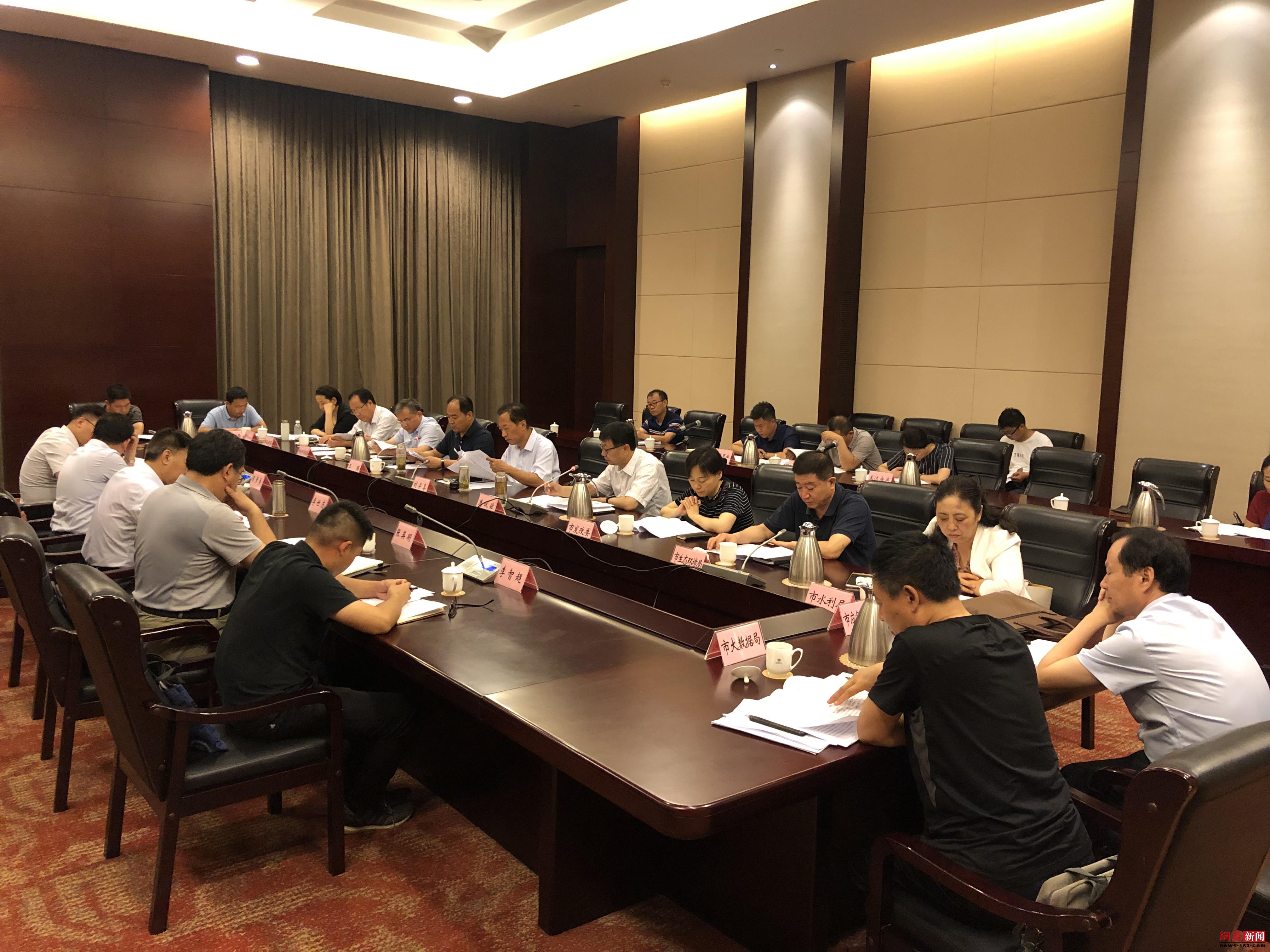 优化提升工程项目审批制度改革调研组来淄