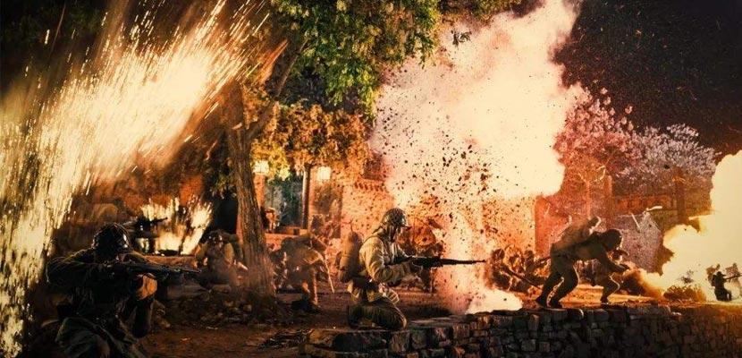 《齐鲁儿女》进入后期制作阶段 山东最幕还原齐鲁抗战实景