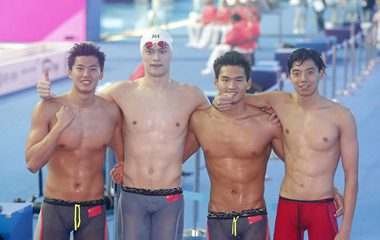 光州游泳世錦賽閉幕 中國雄踞金牌榜首位