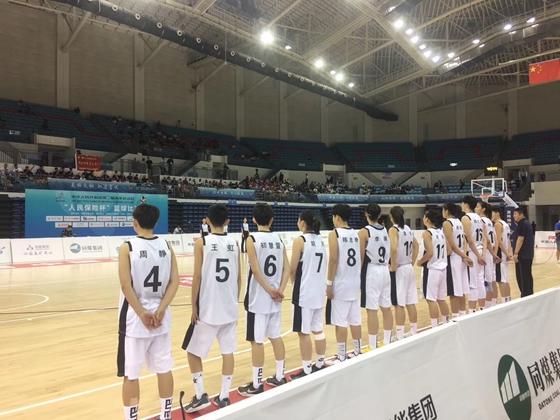 山东夺二青会女篮U16体校组金牌