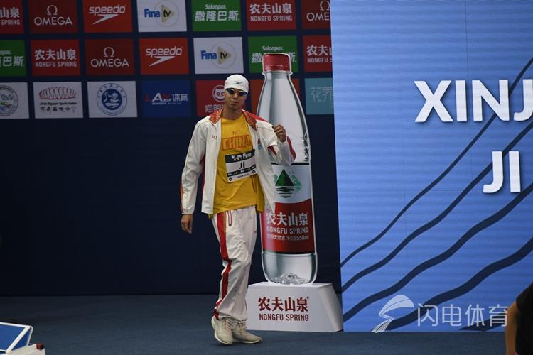 游泳世界杯200米自由泳立陶宛选手再破纪录 山东小将获第二