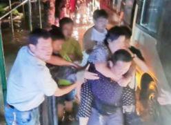 孝妇河河水快速上涨 淄博经开区连夜转移17个沿河村万余群众