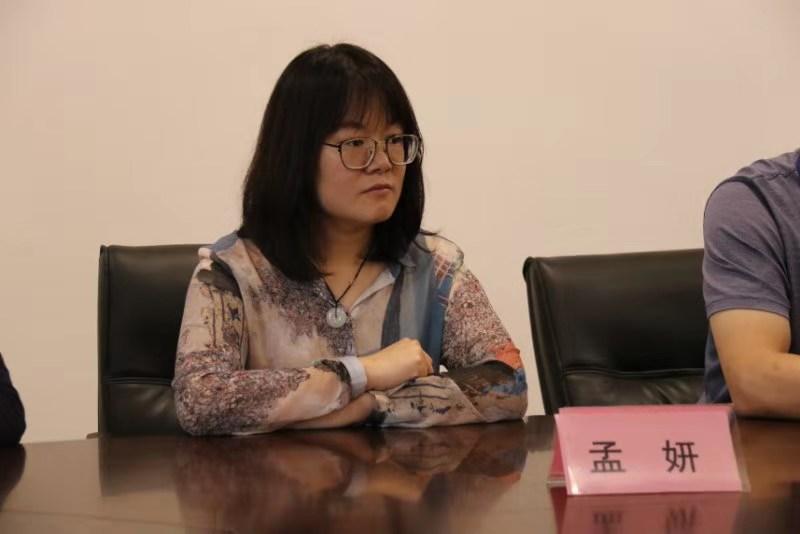 山东省立医院营养科主任孟妍出席出席闭营仪式