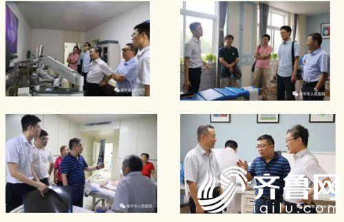 会后,江玉泉一行到神经脊柱门诊、实验室和神经外科病房参观-(2)