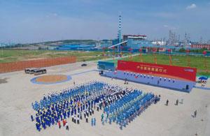 中国化学天辰齐翔尼龙新材料产业基地奠基