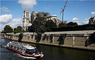 因铅尘污染影响施工!巴黎圣母院重启灾后维修