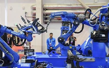 """世界機器人大會開幕 各式機器""""能人""""集體亮相"""