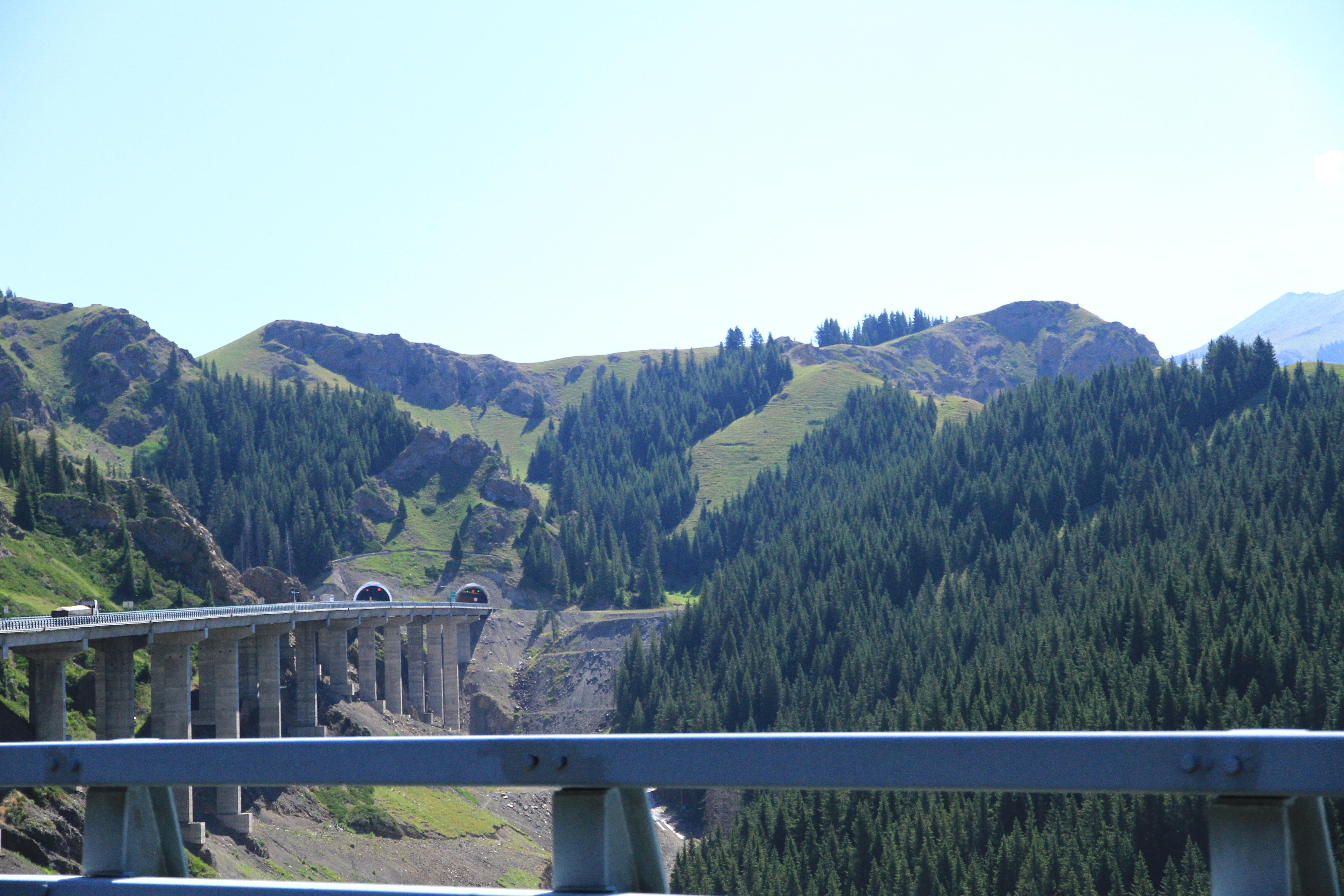 61、呈S形的大桥引桥