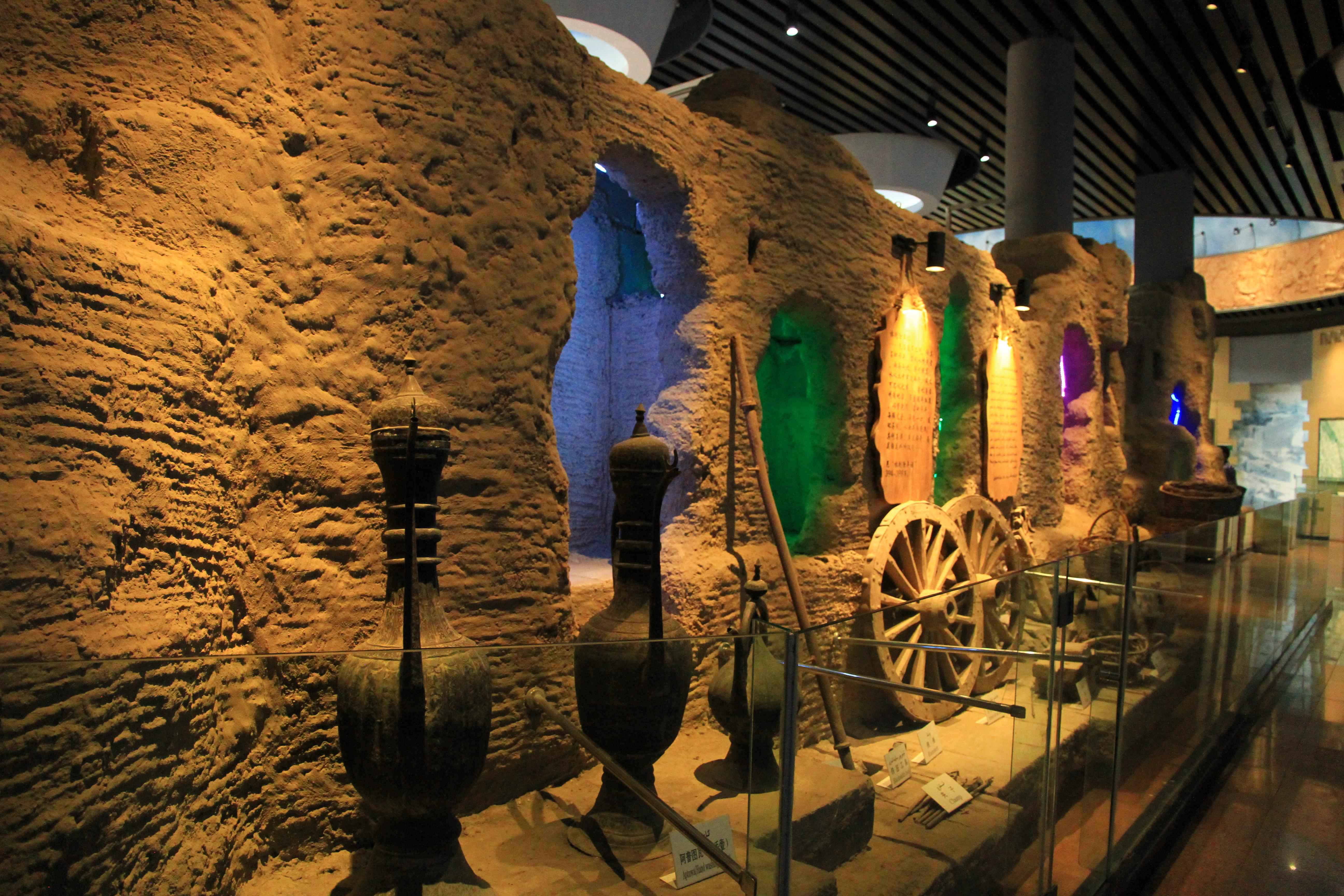 76、坎儿井。博物馆