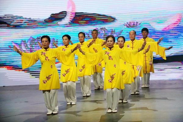 2019年山东省健身气功站点联赛电视总决赛举行
