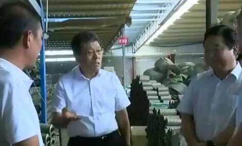 王玉君到河东区督导大气污染防治强化攻坚工作