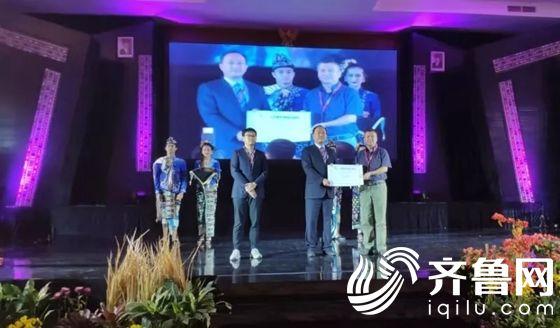 第六届亚太世界地质公园大会隆重举行 沂蒙山世界地质公园授牌