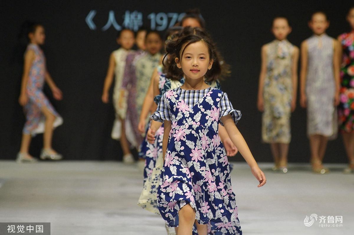 顶尖童装设计新作亮相中国(青岛)国际时装周