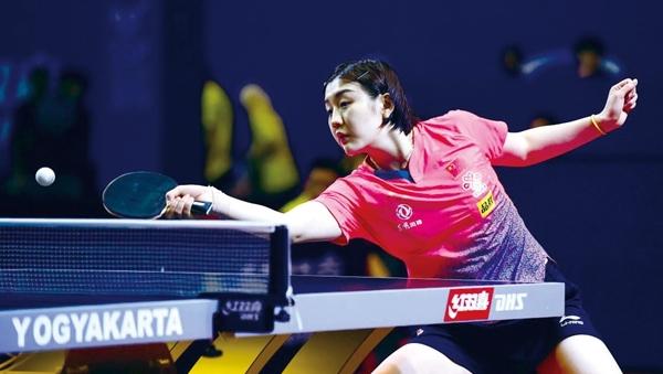 2019亚洲乒乓球锦标赛 陈梦助国乒女团夺七连冠直通奥运