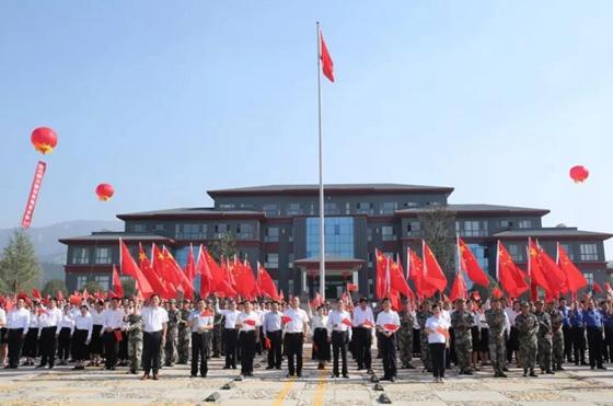 蒙山歌唱祖国献礼新中国成立70周年