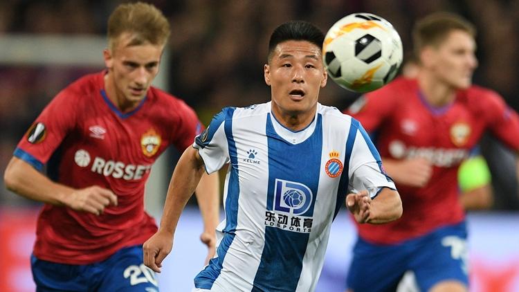 创历史!武磊攻入中国男足队员欧战正赛首球