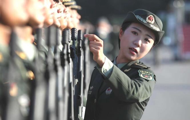 國慶閱兵山東面孔,感受受閱排面里的山東力量