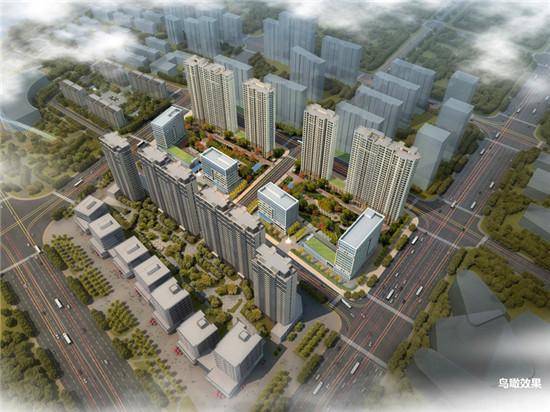 中国铁建青岛区域总部集群基地主体结构封顶