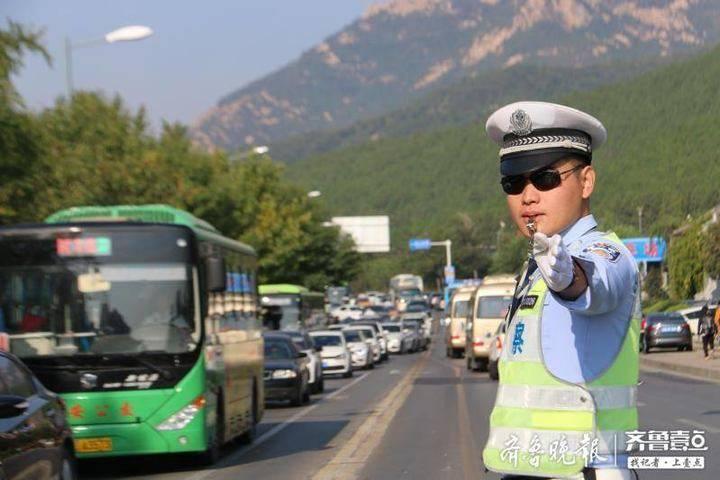国庆期间近20万辆车进入泰城 泰安市道路交通秩序平稳有序