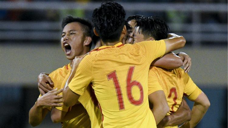 四国赛-国奥2-0印尼U22 童磊世界波