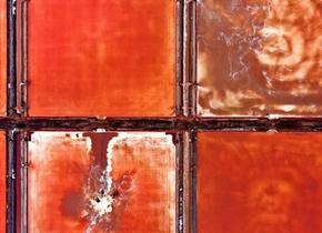 鲁北海盐收获 红白相间拼成缤纷画卷