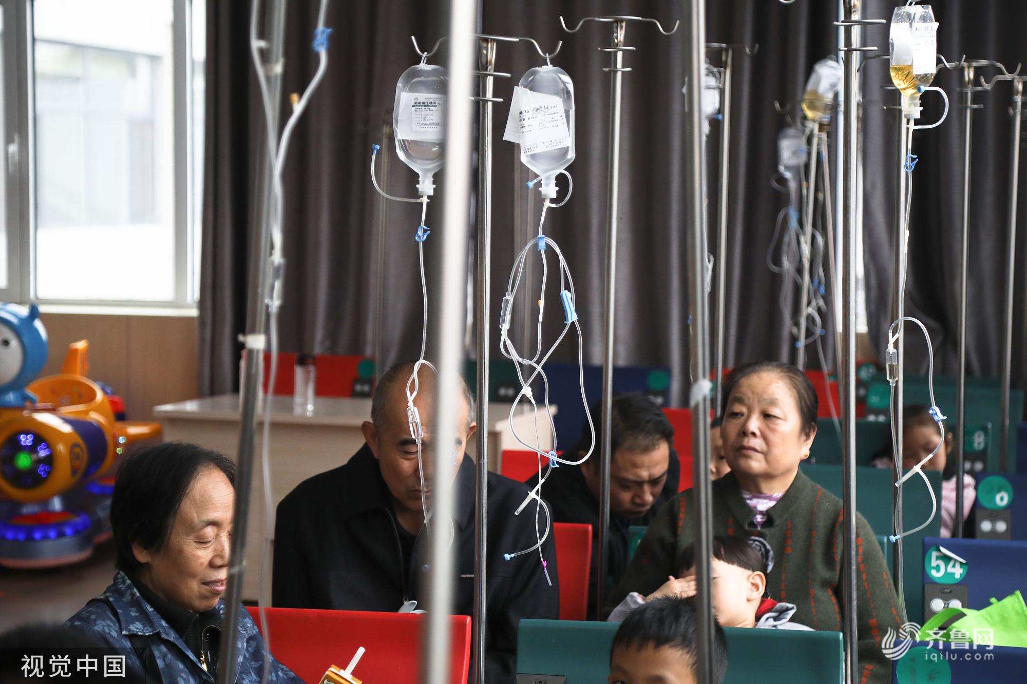 枣庄:强降温致医院患者增多 门诊就诊量明显增加