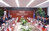 王魯明走訪中國外運股份有限公司