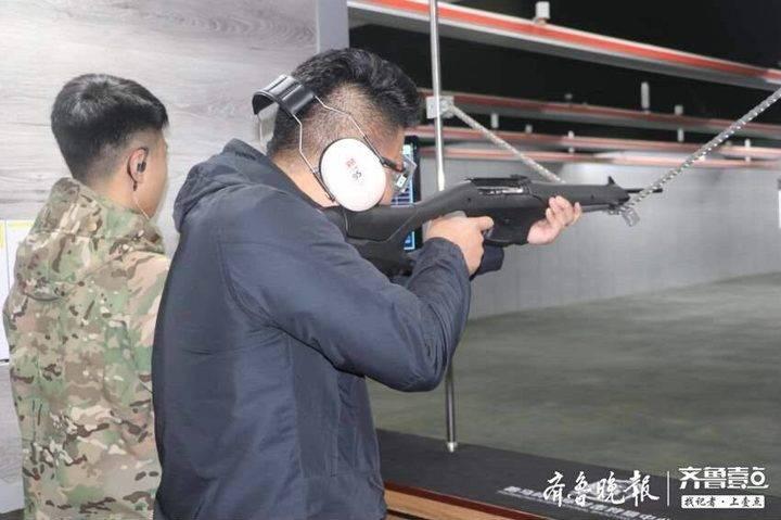 泰安人又多一个游玩好去处!山东首家全口径实弹靶场亮相济南