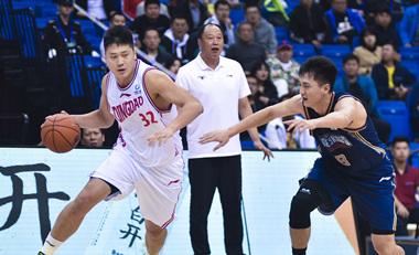 19/20CBA季前赛:青岛双星Vs南京同曦