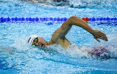 2019军运会男子800米自由泳决赛:季新杰夺冠