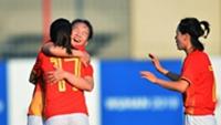 山东女足旧将吴海燕先发 军运会中国女足4-0战胜美国队