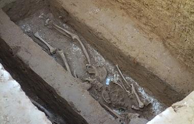 北京景泰地鐵站附近發現古墓70座