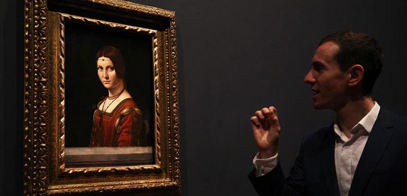 法国卢浮宫举办纪念达·芬奇逝世500周年特展