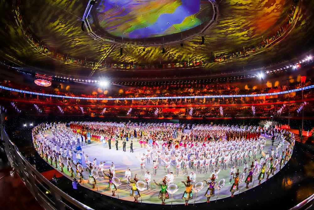 2019第七届世界军人运动会闭幕式举行