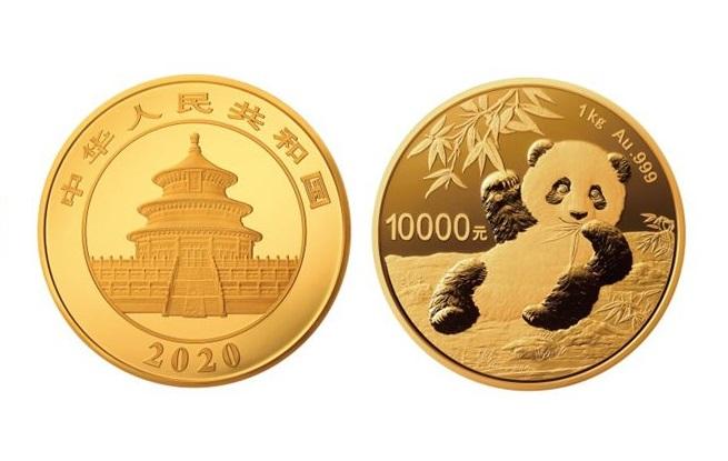 """""""硬币""""面值1万!央行将发行2020版熊猫金银纪念币"""