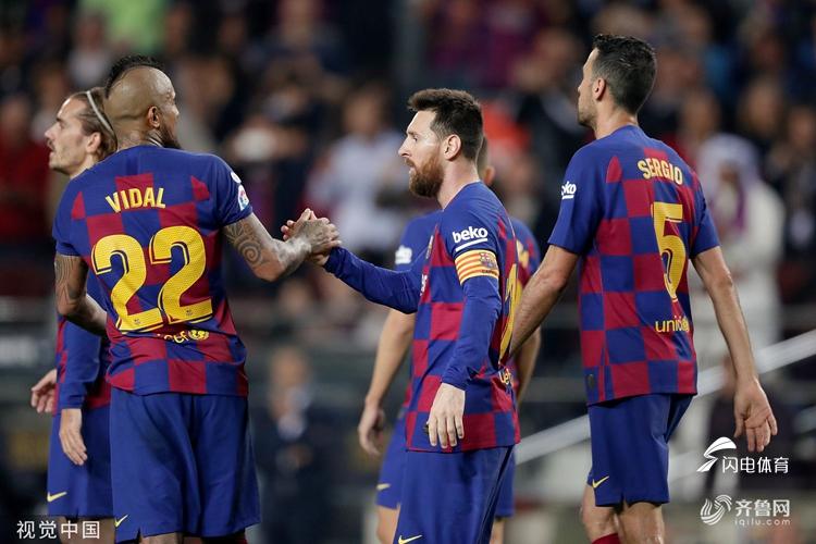 梅西在巴萨几号_梅西两射两传 巴塞罗那5-1巴拉多利德_综合体育_体育_齐鲁网