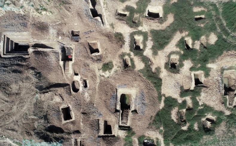 湖北襄阳发现东周时期公墓群 出土400多件珍贵文物