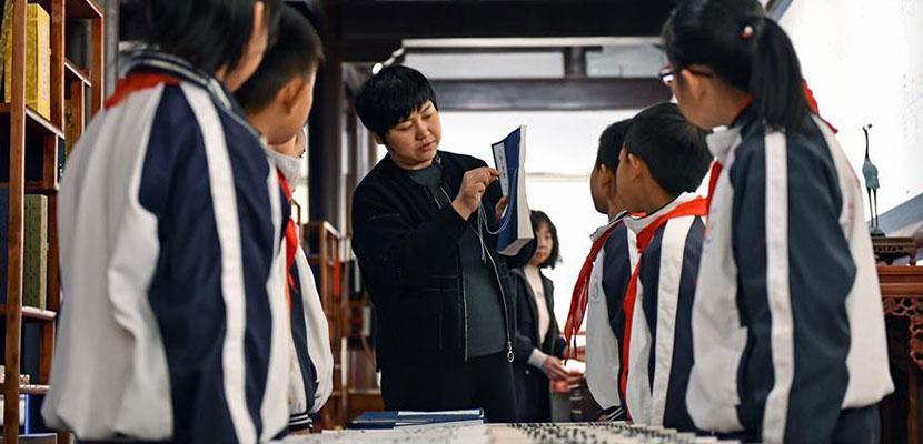 """山东小学生体验""""非遗"""" 传承文化"""
