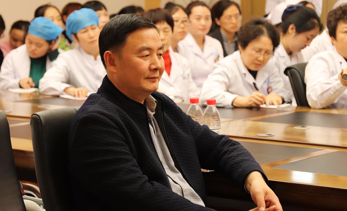 济南嘉乐生殖医院工会工作指导员省国防机械电子工会二级调研员倪道余同志