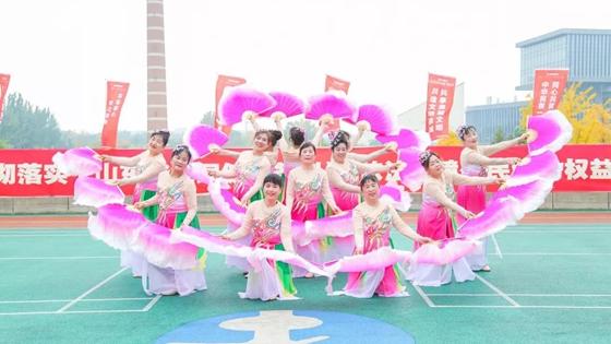 济南市400余社体指导员拼技能展风采