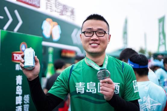 跑过海上的马拉松吗? 青岛啤酒酷炫助力2019青岛海上马拉松