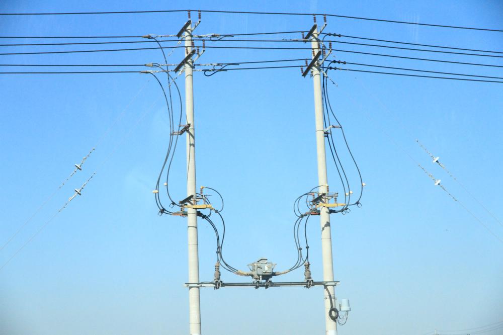 34、输电线的几何图形艺术